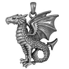 Leviathan Dragon Pendant Necklace