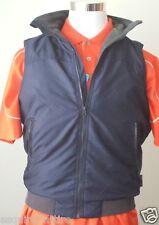 CHAPS Men Size S vest (windbreaker with fleece lining , full zip) warm NWT BLUE