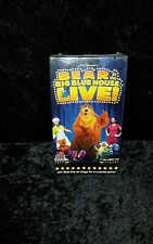 Bear In the Big Blue House - Live! (VHS, 2003) BRAND NEW