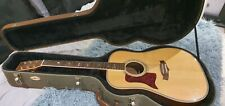 More details for tanglewood tw1000-lh left hand acoustic guitar with unmarked hard case