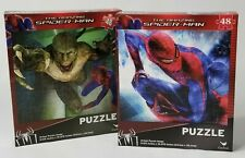 Two Marvel Spiderman & The Lizard 48-Piece Jigsaw Puzzles for Kids and Adults