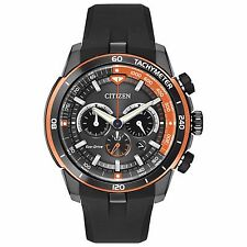 Citizen Eco-Drive Men's CA4154-15E Ecosphere Chronograph Poly Strap 48mm Watch