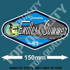 ENDLESS SUMMER Decal Sticker Vintage Americana Hot Rod Rat Rod Surfing Stickers