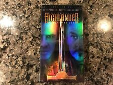 Highlander New Sealed Vhs! 1986 Fantasy! Directors Cut!