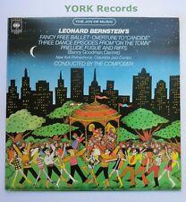 61816 - BERNSTEIN - Fancy Free Ballet etc NEW YORK PHILHARMONIC O - Ex LP Record