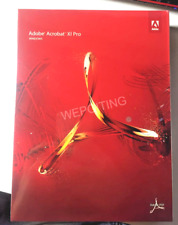 More details for adobe acrobat xi 11 pro / professional win english new sealed dvd on sale!