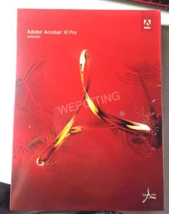 Adobe Acrobat XI 11 Pro / Professional Win English NEW Sealed DVD On Sale!