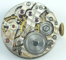 Vintage Alvin Watch Co Mechanical Wristwatch Movement -  Parts / Repair