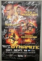 Bellator MMA 142 11X17 **SIGNED/AUTOGRAPHED** EVENT POSTER (UFC)