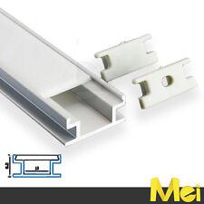 J014 2mt profilo alluminio CALPESTABILE INCASSO striscia barra LED 5630 5050