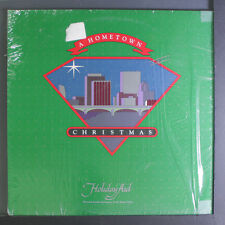 VARIOUS: A Hometown Christmas LP (shrink) Christmas