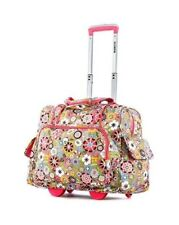 Small Carryon Luggage Rolling Suitcase For Women Underseat Carry On Tote Bag NEW