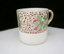 Minton porcelain floral band Coffee Can
