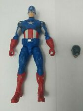 Marvel Legends Avengers Movie Captain America Loose no Shield Extra Head