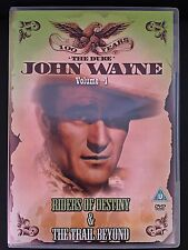 DVD John Wayne the Duke Vol 4-Riders of Destiny+ The Trail Beyond-New