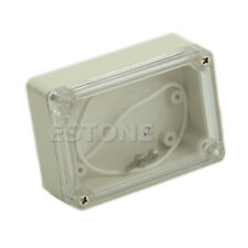 85x58x33mm Waterproof Electronic Clear Cover Project Plastic Box Enclosure CASE
