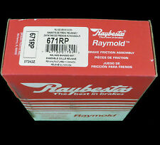 NEW Drum Brake Shoe-Raymold Raybestos 671RP fits 93-98 Nissan Altima