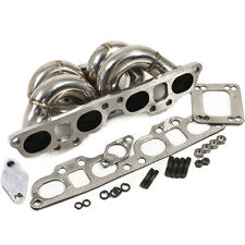 NISSAN PS13 S14 S14A SR20DET STAINLESS STEEL T3 T4 TOP TURBO EXHAUST MANIFOLD