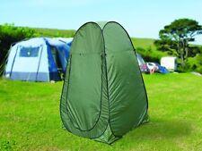 Leisurewize VERDE Utility POP UP Campeggio Vacanza SPOGLIATOIO Tenda Da Doccia WC