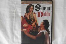 DVD Samson et Dalila Peplum Cecil B. de Mille Hedy Lamarr Angela Lansbury