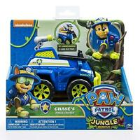 Brand New Boxed Paw Patrol Jungle Vehicle With Pup Chase Jungle Cruiser Toy Gift