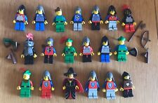 Minifigura Lego Castillo Vintage Paquete Dragon susto Caballero Forestman