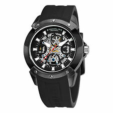 Stuhrling Original 266 33561 Men's Crucible Automatic Skeleton Black Watch