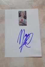 "Marc Almond ""Soft Cell"" autógrafo signed 10x15 cm tarjeta de índice con Revista Imagen"