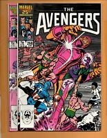 The Mighty Avengers #268, 269 2 book lot 1st Series Kang Vs. Immortus NM