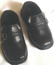 Shoes dress boys size 8.5 wide EUR 25.5 wide new Smartfit man made materials