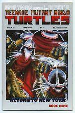 TEENAGE MUTANT NINJA TURTLES #21 EASTMAN LAIRD MIRAGE 1989 B/W DEATH SHREDDER