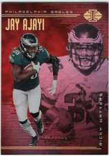 2018 Illusions Trophy Collection Red /199 #55 Jay Ajayi/Ricky Watters
