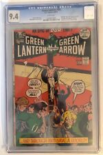 GREEN LANTERN #89 - CGC 9.4 - FINAL ADAMS/O'NEIL - WHITE PAGES