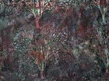 Hoffman Batik Forest Trees G2222-92 Slate Cotton Batik Fabric BTY