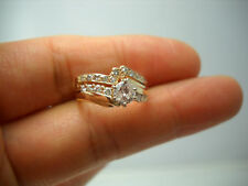 STUNNING 14KT Y/G  ROUND DIAMOND BRIDAL SET B45426