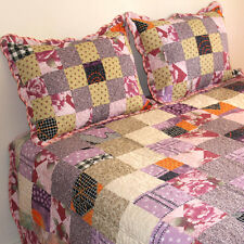 Bedspread Patchwork Cotton Quilted Bedspread 3PCS Set Queen Size