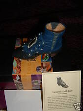 Just the Right Shoe Victorian Ankle Boot Nib