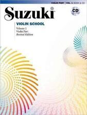 Suzuki Violin School, Revised Edition, Violin Part mit CD Vol. 1 - NEUWERTIG !