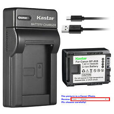 Kastar Battery Slim Charger for Canon BP-808 CG800 Canon VIXIA HF M301 Camcorder
