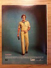 Original 1979 Lee Jeans Vintage Vintage Print Ad