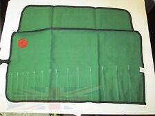 New 15 Pocket Canvas Tool Roll for MG Midget MGB MGC TD TF MGA With MG Logo