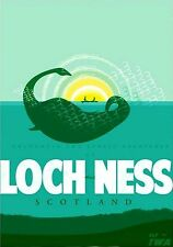 Magnet Travel Photo Magnet Loch Ness Scotland Nessie