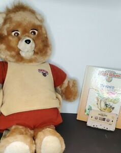 1985 Teddy Ruxpin, tested works, The Airship book and tape.