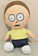 "Rick & Morty MORTY stuffed plush 8"" toy doll 2018 Adult Swim Cartoon Network"