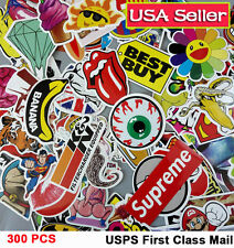 Lot 300 Random Skateboard Stickers bomb Vinyl Laptop Luggage Decals Dope Sticker