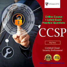 ISC2 Certified Cloud Security Professional CCSP Course & Latest Questions 2020