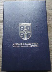 Schatulle Etui mit 4 items USB Stick ... Football Association of Serbia Serbien