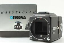 【MINT in BOX】 Hasselblad 500CM C/M Black Body A12 Film Back From Japan #690