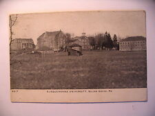 Buildings at Susquehanna Unversity in Selinsgrove Pa 1909