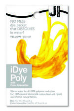Jacquard iDye Poly Yellow - fabric dye for synthetic fibers (polyester, nylon)